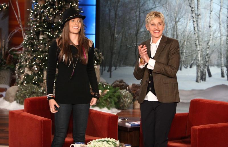 Paris Jackson Ellen DeGeneres The Ellen Show 2011