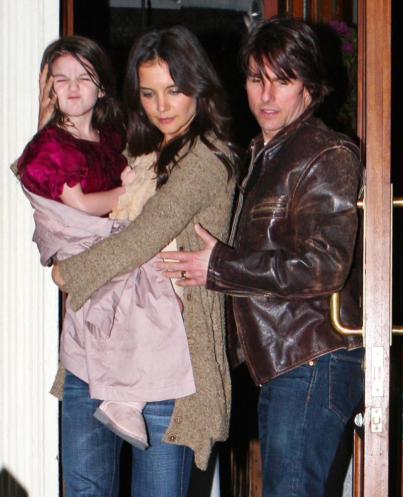 Tom Cruise Katie Holmes Suri