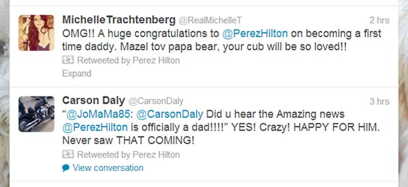 Michelle Trachtenberg Carson Daly Perez Hilton