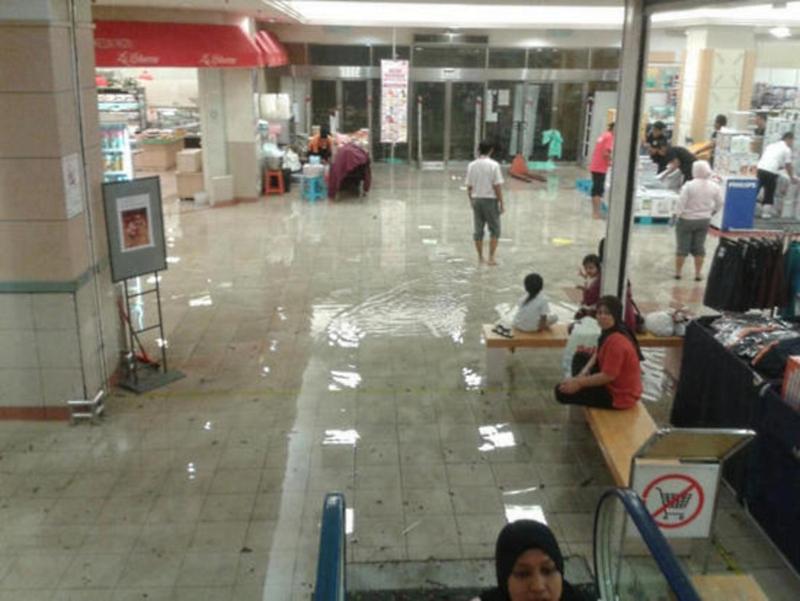 Puchong Flash Flood IOI Mall Interior