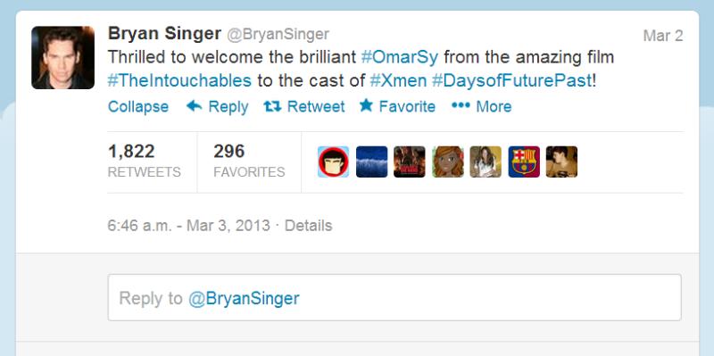 Bryan Singer Twitter