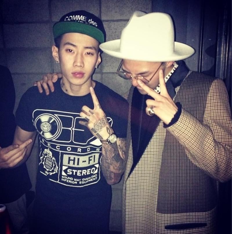 Jay Park G-Dragon