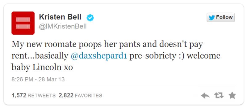 Kristen Bell Lincoln Bell Shepard