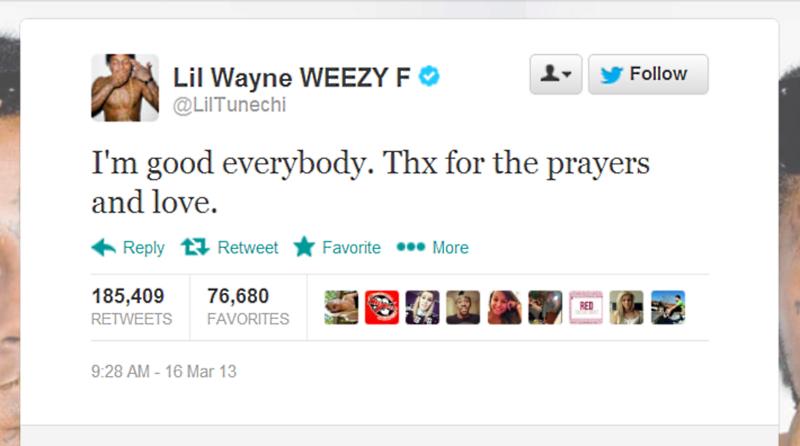 Lil Wayne Twitter