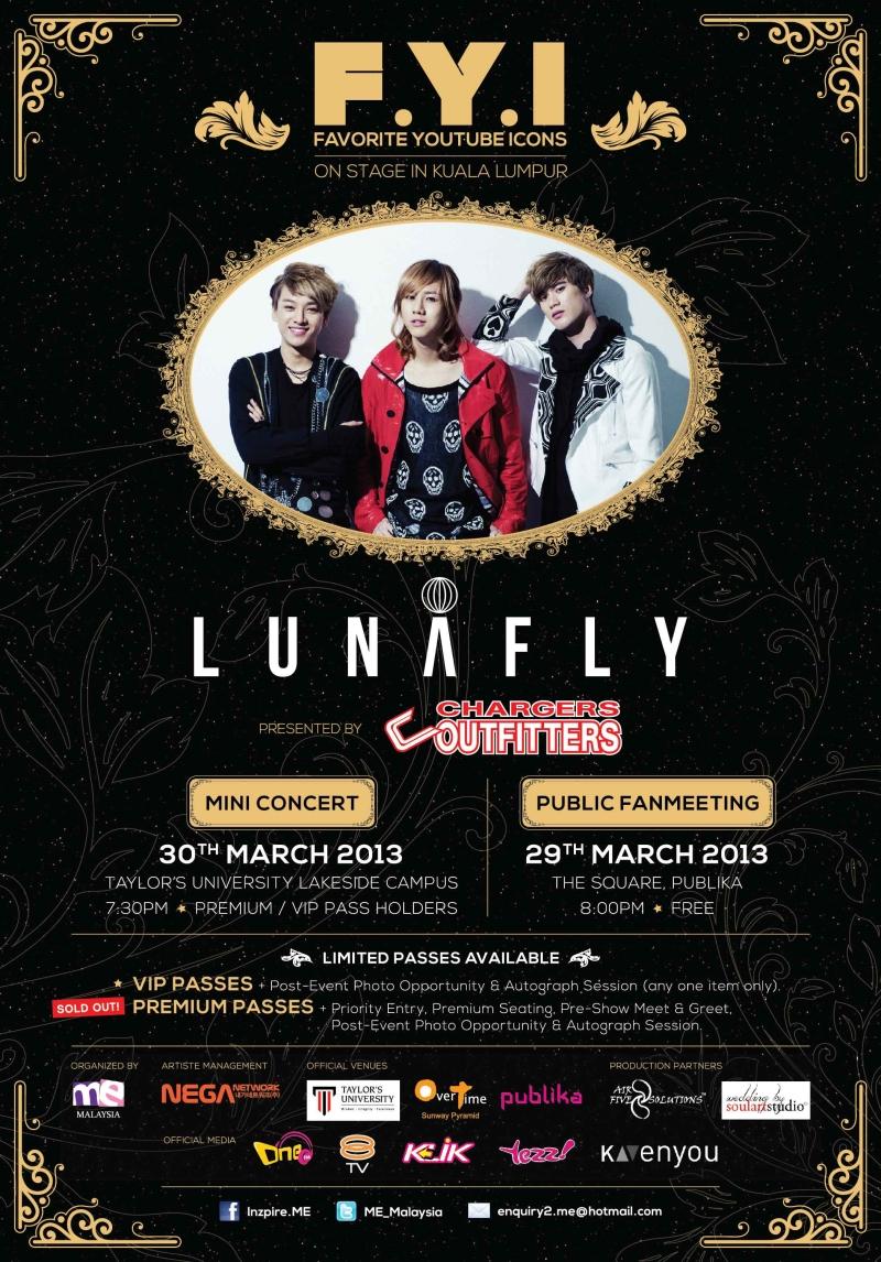 Lunafly FYI On Stage Kuala Lumpur