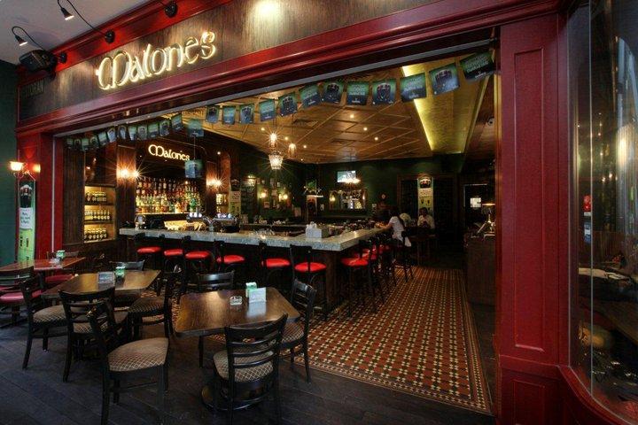 Malones Irish Restaurant and Bar Pavilion