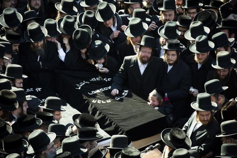 Nachman and Raizel Glauber Funeral