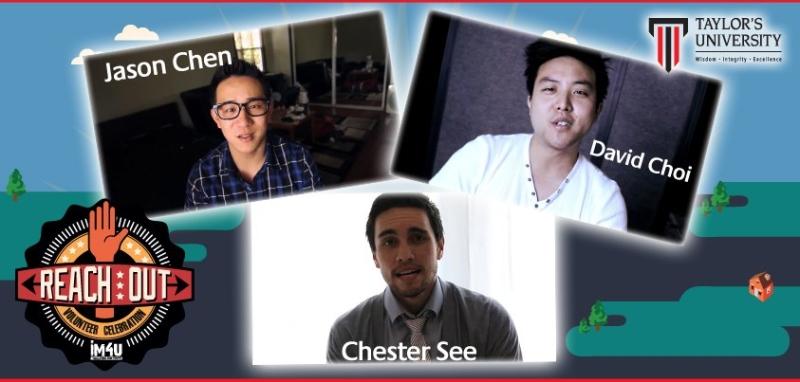 Reach Out David Choi Chester See Jason Chen