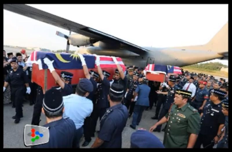 Slain Malaysian Policemen Lahad Datu