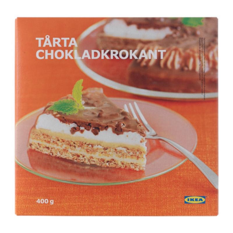 Tarta Chokladkrokant