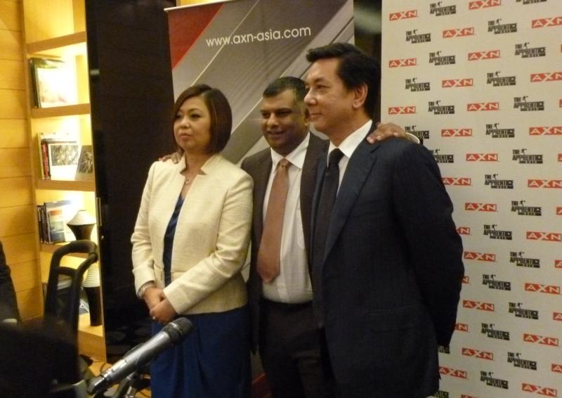 The Apprentice Asia Judges Tony Fernandes Mark Lankester Kathleen Tan