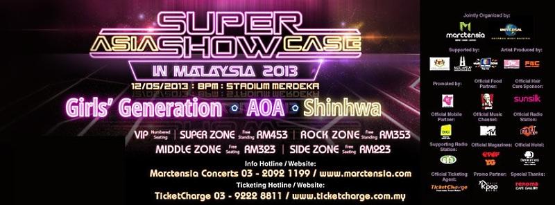 2013 Asia Super Showcase in Malaysia Shinhwa