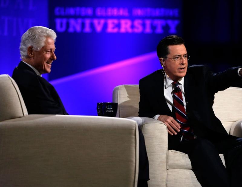 Bill Clinton The Colbert Report
