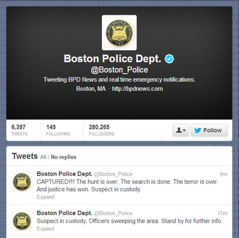 Boston Bombing Suspect Arrested
