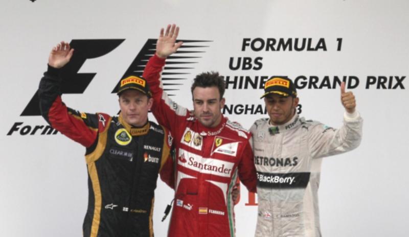 Chinese Grand Prix F1 2013