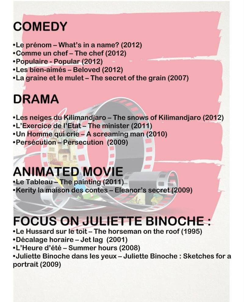 FAFF 2013 Films