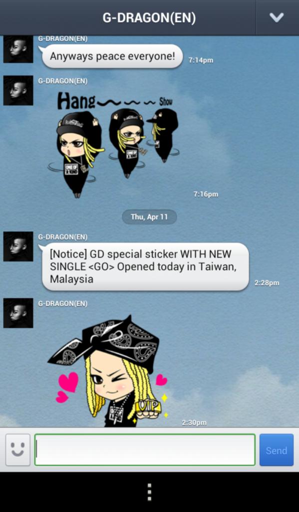 G-Dragon LINE