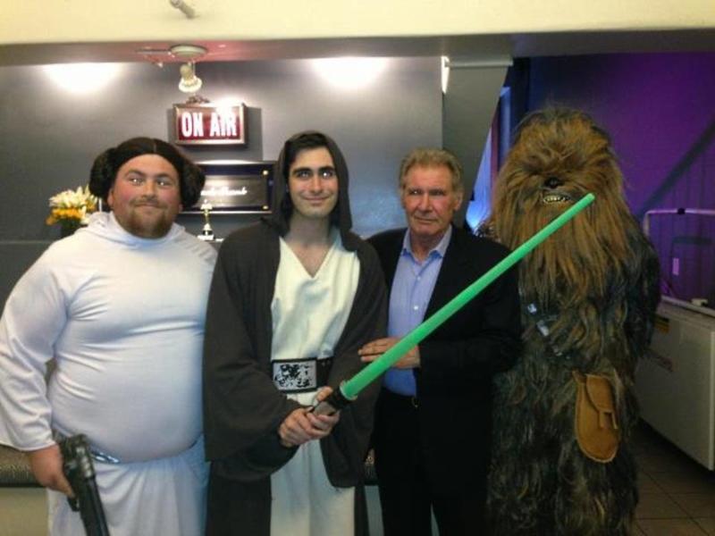 Harrison Ford Jimmy Kimmel Star Wars