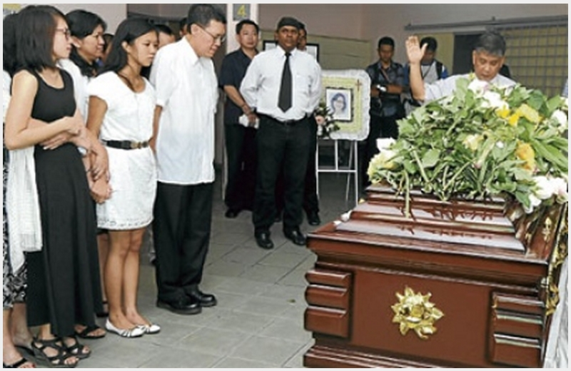 Irene Ong Funeral