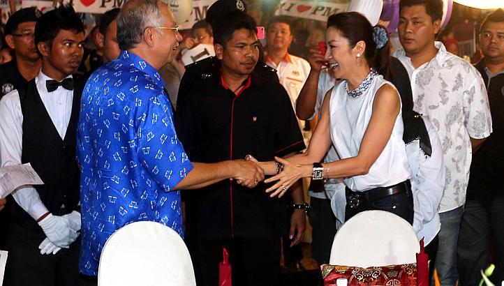 Michelle Yeoh Najib Klang Dinner