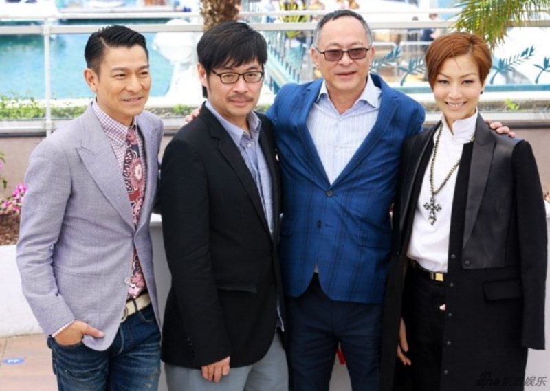 Andy Lau Sammi Cheng Cannes