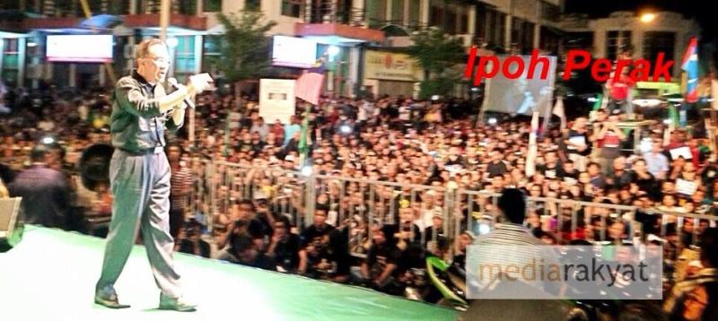 Anwar Ibrahim Black505 Ipoh