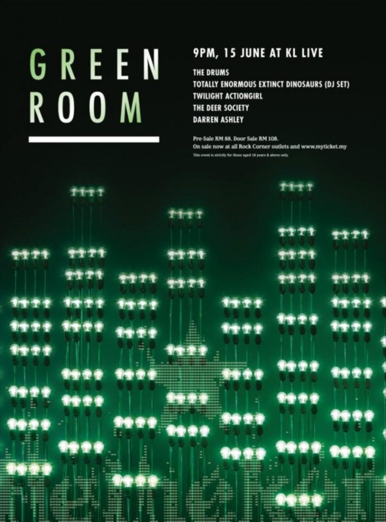 Heineken Green Room Malaysia 2013