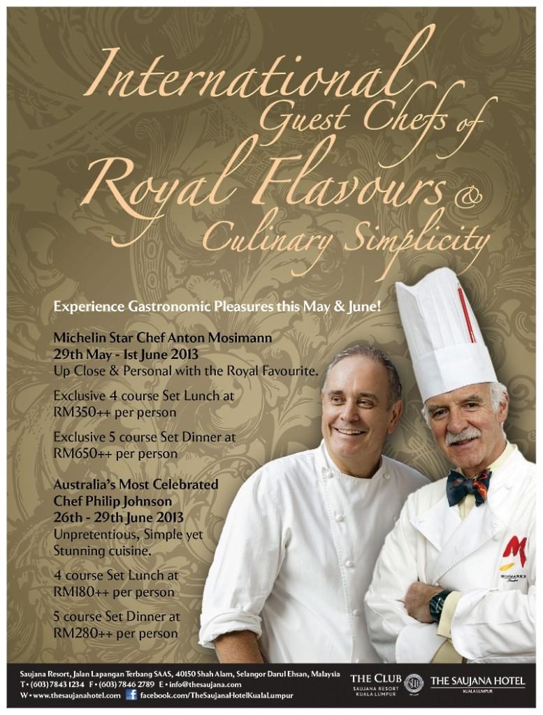 International Guest Chefs
