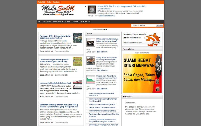 Milo Suam's Blog