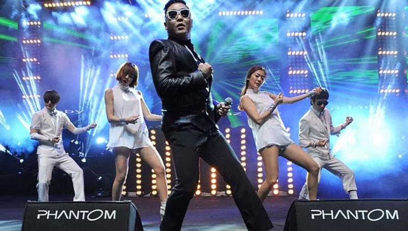 Psy Social Star Awards Singapore