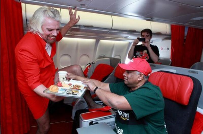 Richard Branson AirAsia