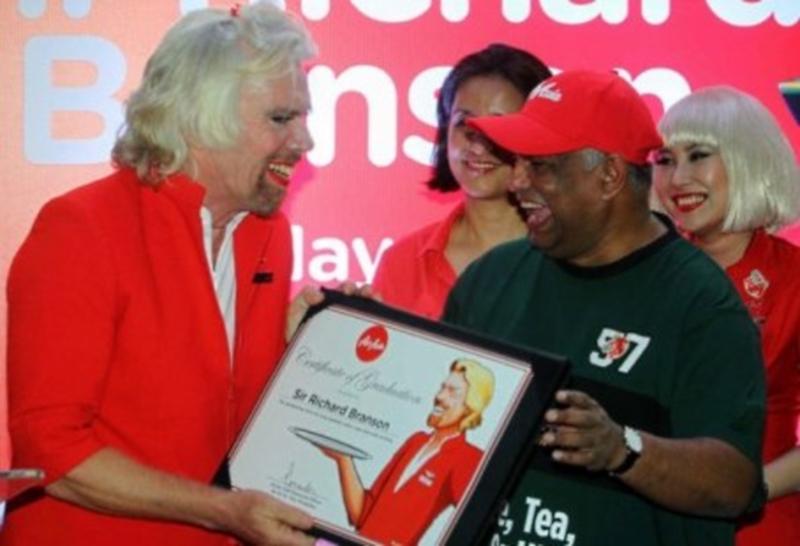 Sir Richard Branson AirAsia