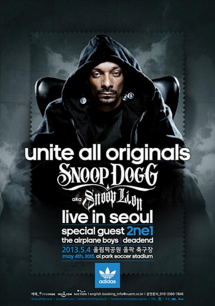 Snoop Dogg Concert Korea 2NE1