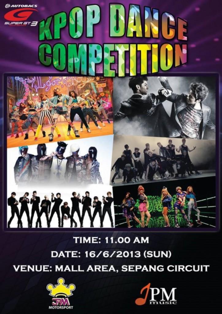 Autobacs Super GT Series 2013 K-Pop Dance Competition