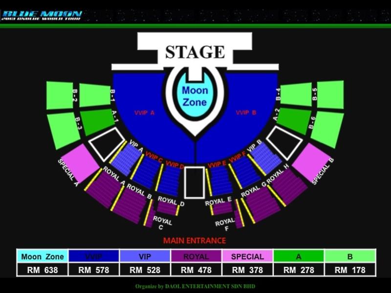 CNBLUE Blue Moon World Tour Malaysia