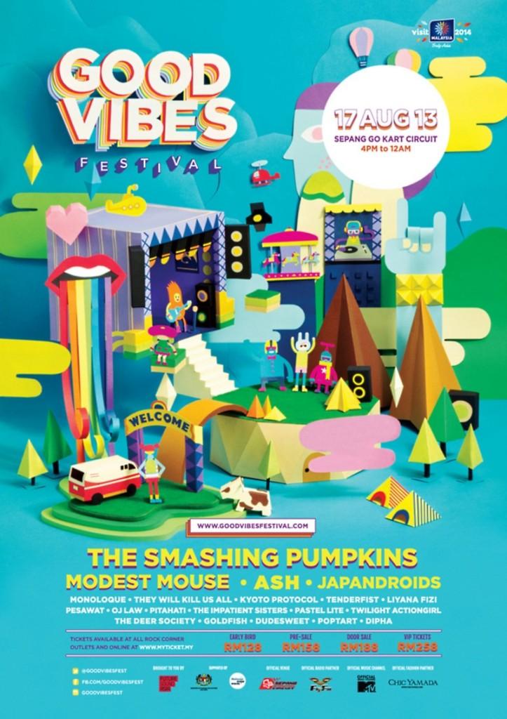 GoodVibesFest Poster