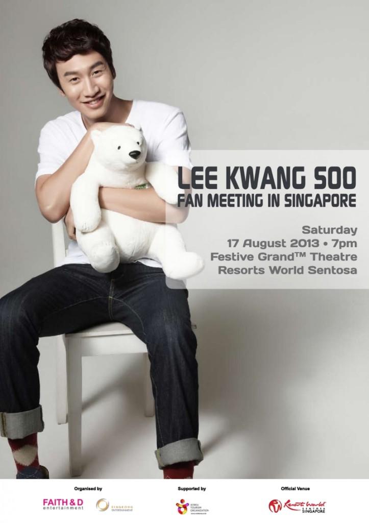 Lee Kwang Soo Singapore 2013
