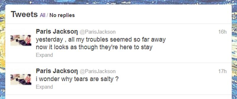 Paris Jackson Suicide