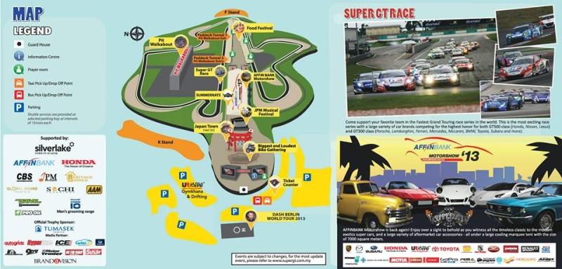 Super GT 2013 Map