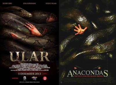 Anaconda 2 Poster Ular Copies Anacondas'...