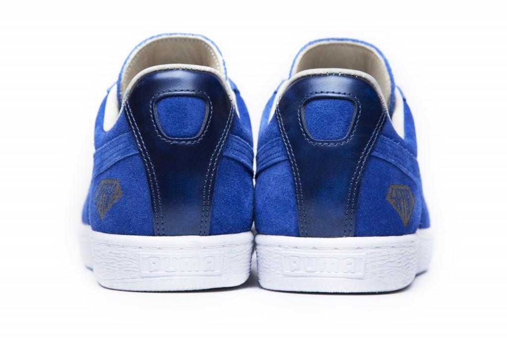 62e60512776b2e Dennis Yin Rocking Puma s Limited Edition Suede Sapphire Kicks ...