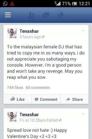 Photo: Tenashar Facebook