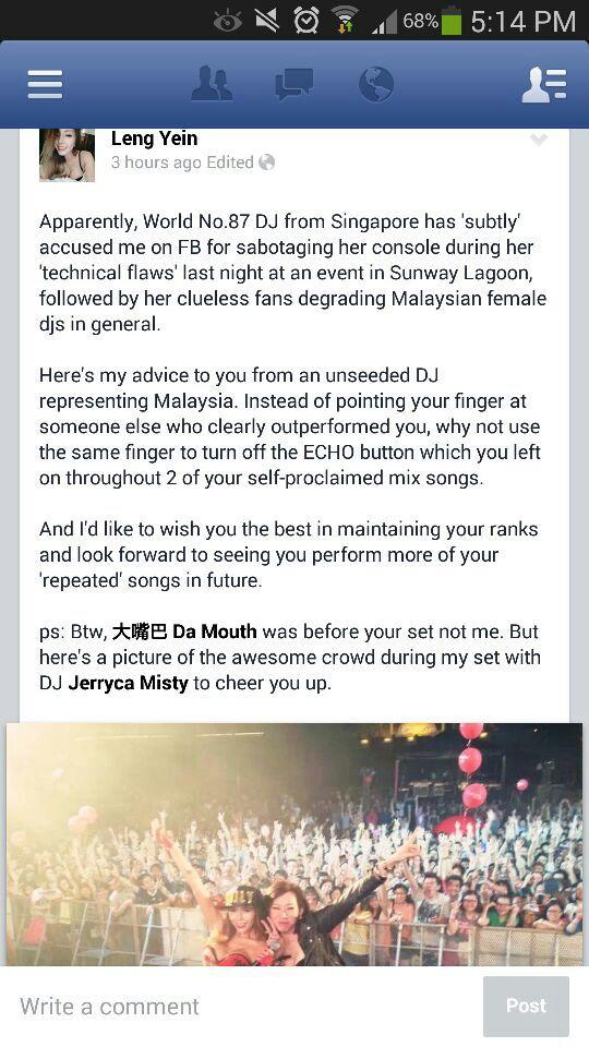 Photo: Leng Yein Facebook