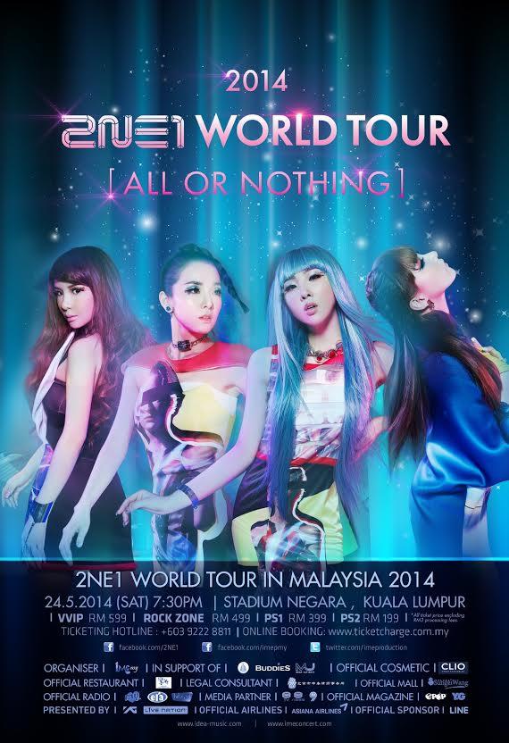 2NE1 Malaysia
