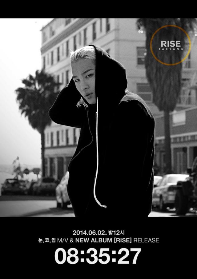 Taeyang RISE Countdown