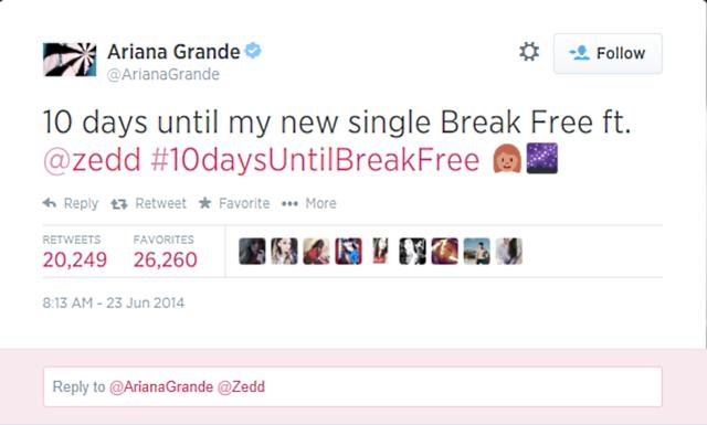 Source: Ariana Grande's Twitter