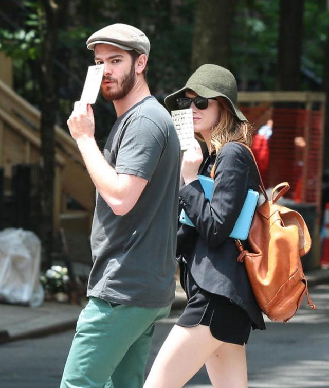 Emma Stone Andrew Garfield 7