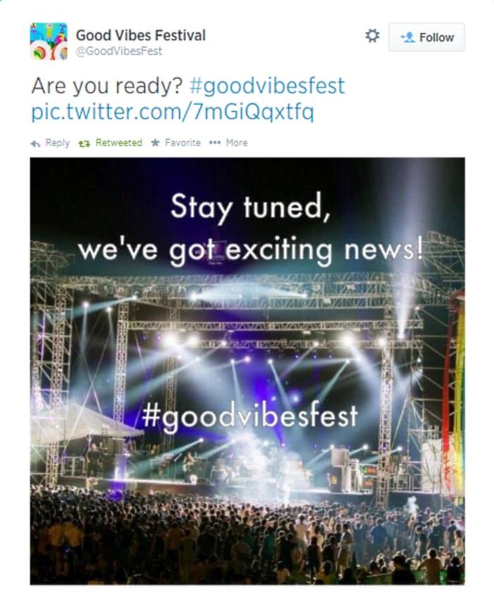 Good Vibes Fest 2014