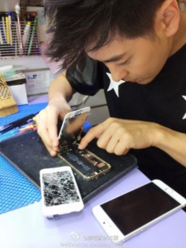 Jimmy Lin Leaks iPhone 6 Pics