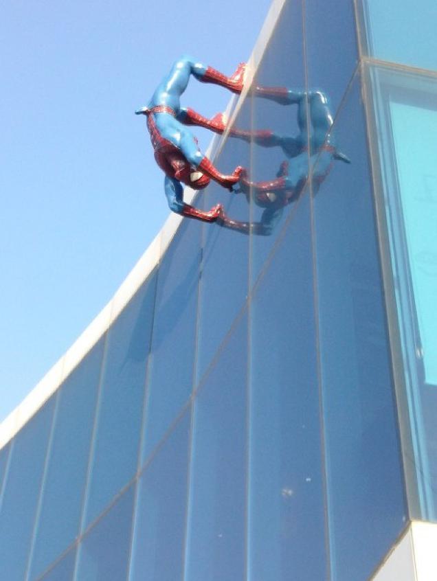 Spiderman Erection 2